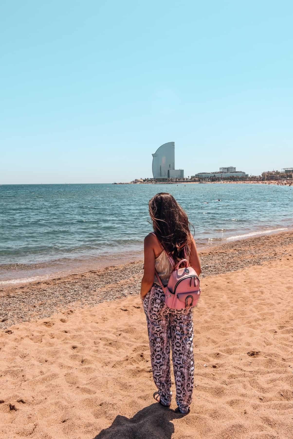 Barceloneta Beach Barcelona