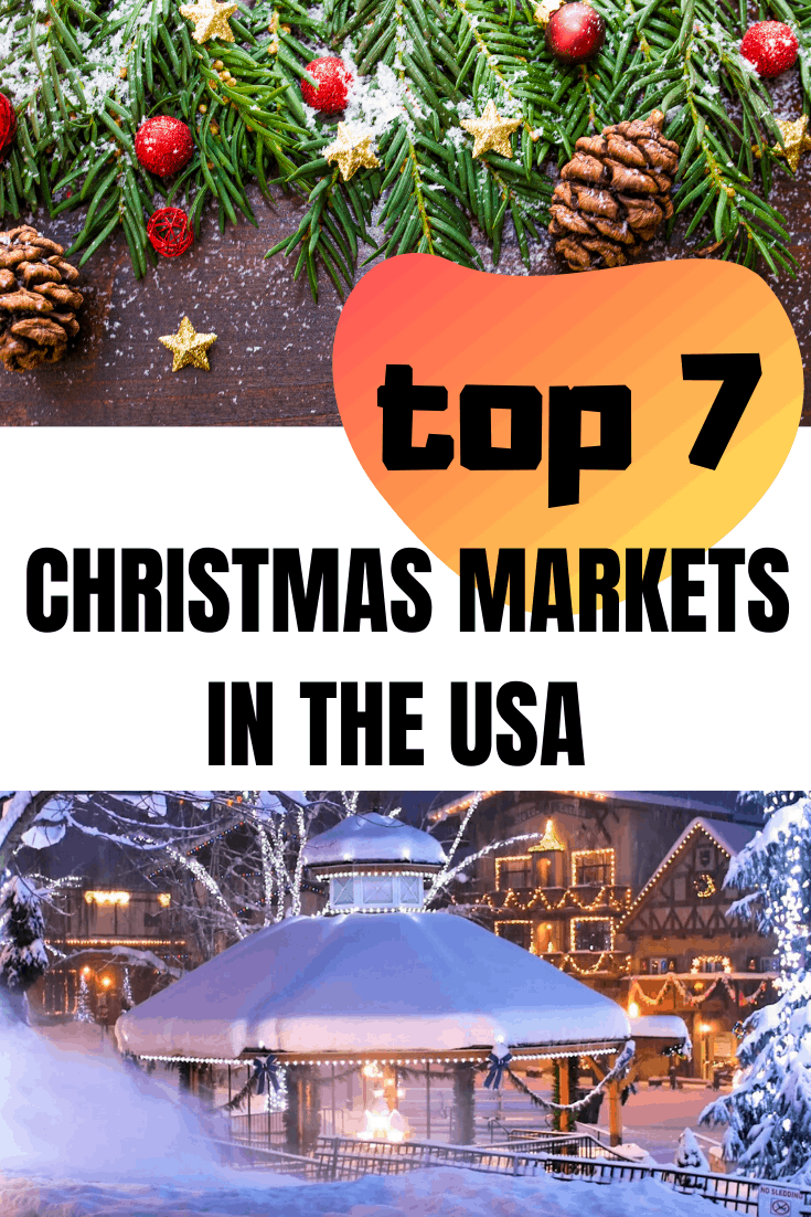 THE BEST CHRISTMAS MARKETS IN THE USA