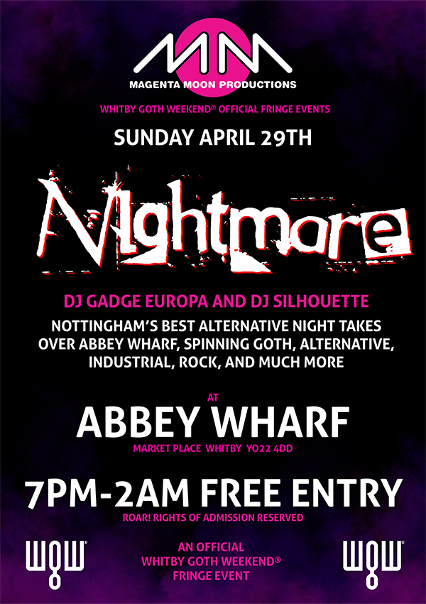 Abbey Wharf - Nightmare Spring 2018