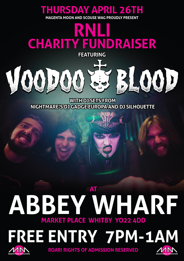 Abbey Wharf - Voodoo Blood Spring 2018