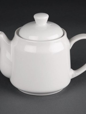 Great value porcelain beverage pots from Athena Hotelware which is tough