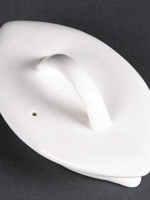 An exquisite range of expertly crafted contemporary oval shaped beverage pot lids by Lumina
