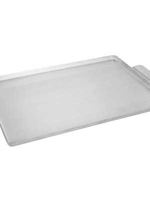 Durable aluminium service tray