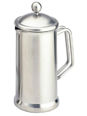 High quality satin finish  stainless steel cafetieres which make coffee quickly and easily.