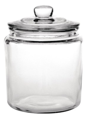 Glass biscotti jars for storage and attractive display of biscuits and sweets. Glasswasher safe. Supplied with lid.