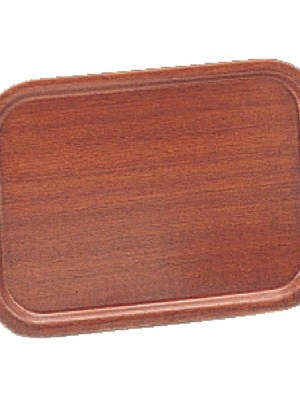 Durable mahogany veneer trays