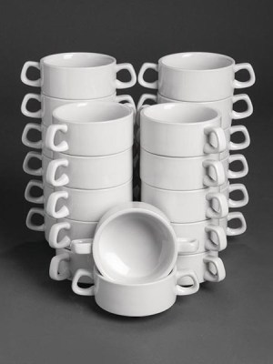Buy more and save with these great value bulk deals. Great value white porcelain range from Athena Hotelware. Tough