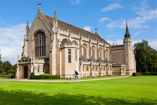 Jeff's memorial will be held at Oundle School Chapel.