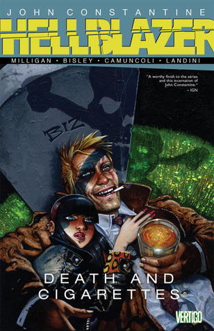 Hellblazer death and ciggarettes