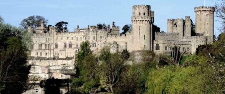 Warwick Castle Oxford near White Hart Hotel Dorchester