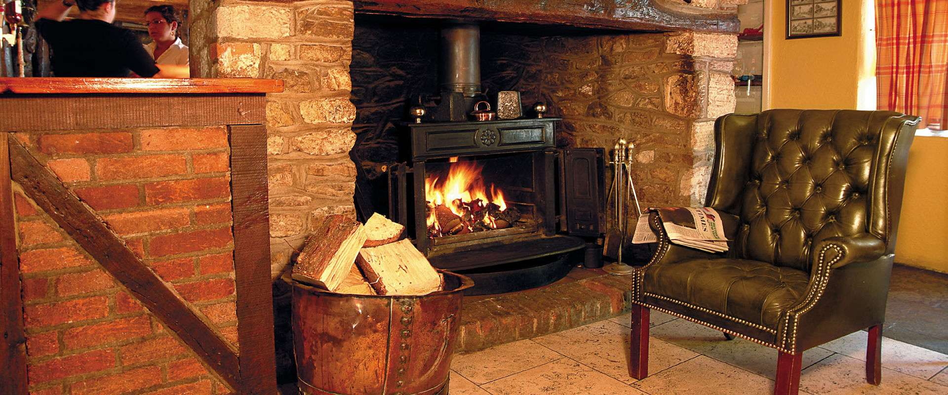 White Hart Fireside