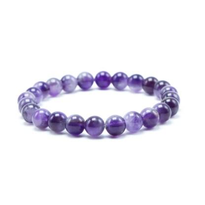 Magnifique Bracelet en Améthyste. White Alpina vous propose ce magnifique bijou en Améthyste en plusieurs tailles et finitions.