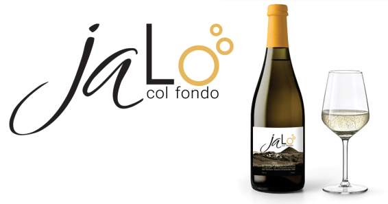 """JALO' col fondo - 2020 logo & label design (vino bianco frizzante dell'Antica Cantina """"Catall"""")"""