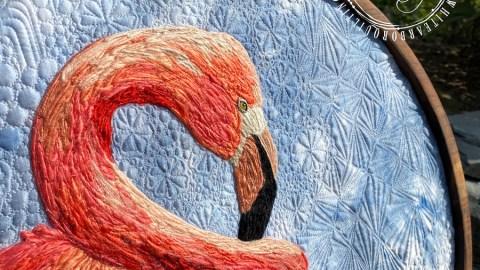 Flamingo Plaque 2020