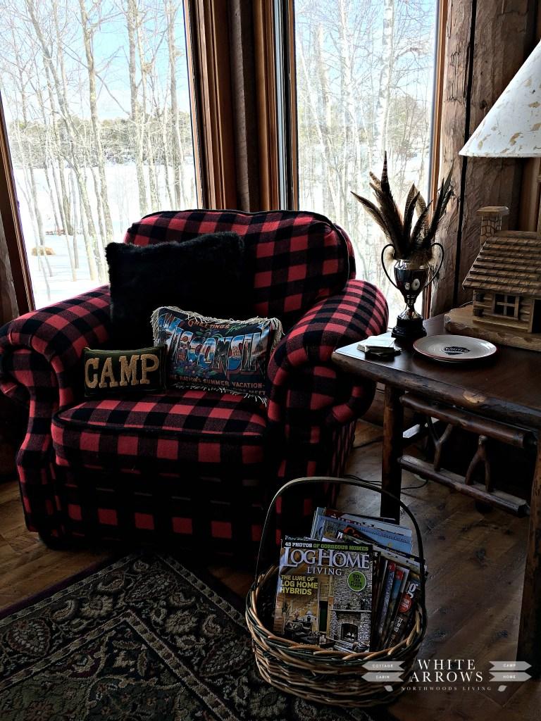 Buffalo Check- Log Home Living- Pheasant Feathers