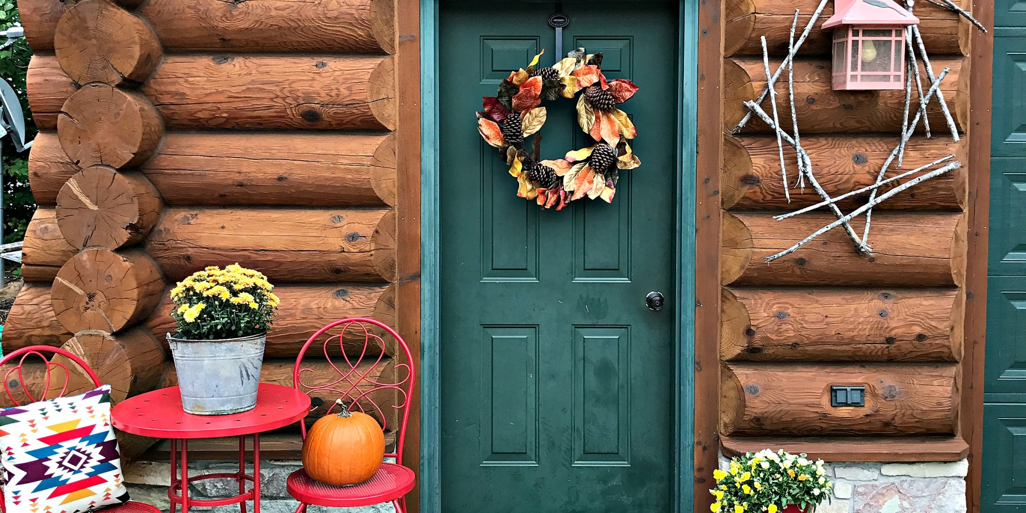 Fall Festival Blog Tour- Autumn Welcome Porch Decor