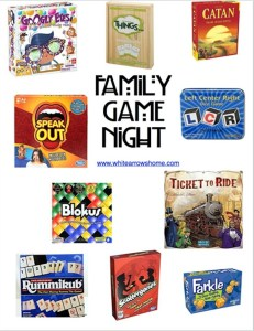 Family Game Night- Top Ten Games Our Family Loves to Play