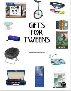 Holiday Gift Guide- Top Ten Best Gifts Tweens