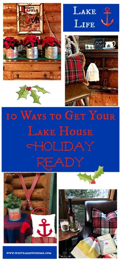 lake house, cabin, cabin christmas, lake house Christmas, Christmas decor, Holiday decor, lake life, cottage