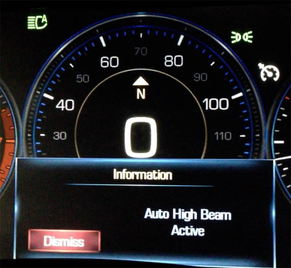 2013 XTS Intellibeam