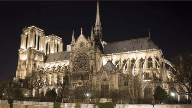 Notre Dame Cathedral Resplendent