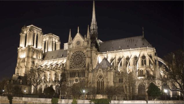 Notre Dame Cathedral Resplendent