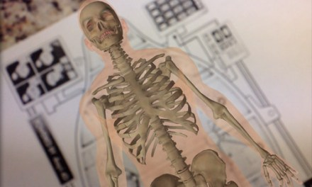 Anatomy 4D – An Augmented Reality Human Body App for IOS