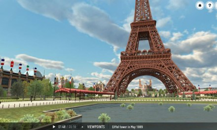 Explore Paris in 3D on your Whiteboard or iPad