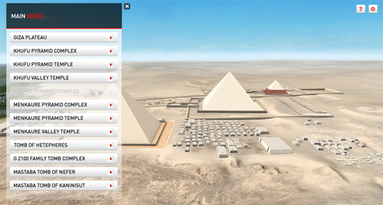 Visit the Pyramids of Giza on your Interactive Whiteboard