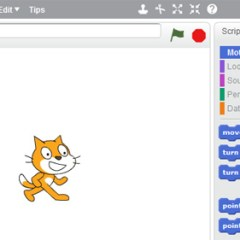 Scratch 2.0 : Programming for kids via a web browser