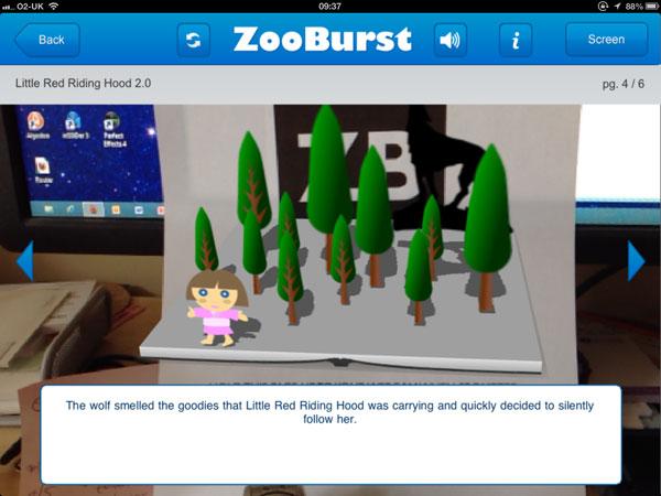Zooburst AR