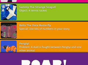 Night Zookeeper Story Pairs Storytelling app for iPad