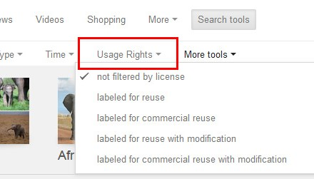 Google Makes it Easier to Search for Creative Commons Images