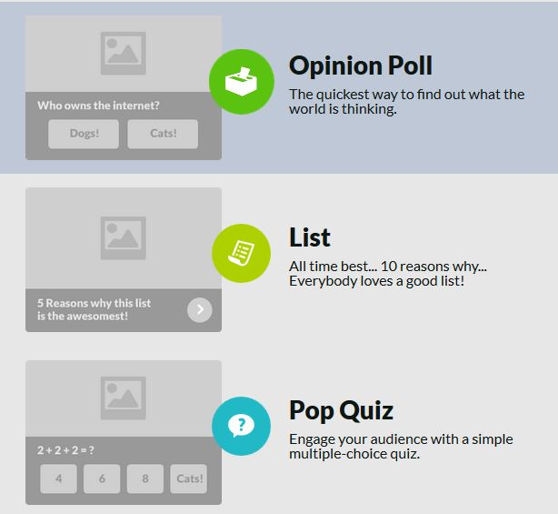 Create great polls and quizzes with Riddle
