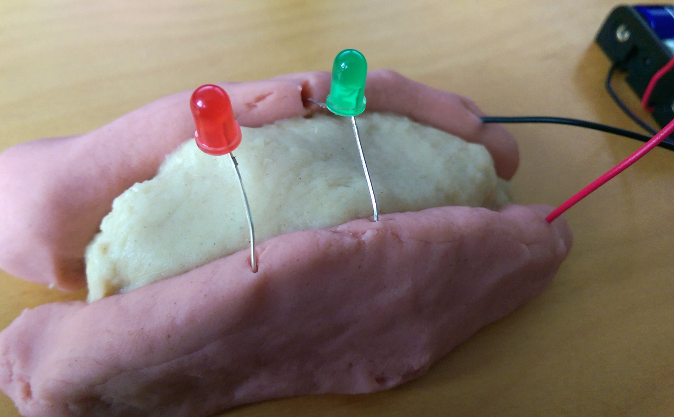 Squishy Circuits Fun With Electrical Dough Homemade Play Are A Great
