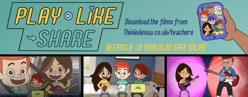 Play Like Share – New KS2 Esafety resource from CEOP