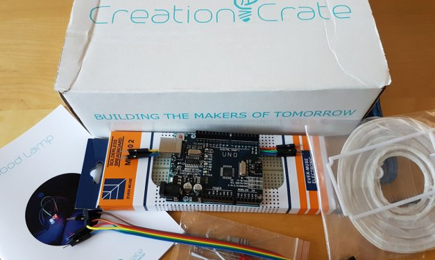 Get a new Maker Project every month with Creation Crate