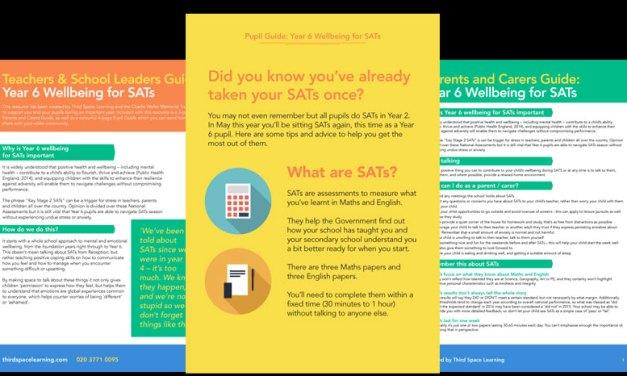 Children's Mental Health Week : Year 6 Wellbeing Resources