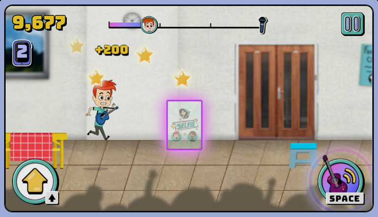 Play Like Share : Band Runner Online Safety Game for 8-10 yr olds