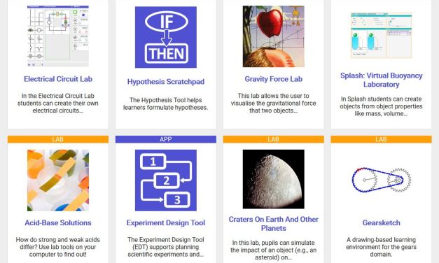 Go Lab : Interactive Enquiry Apps for Teaching Science