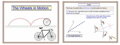 A Powerpoint Math Or Maths Presentation On Locus Or Loci