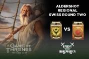 AGOT LCG Aldershot Regional 2017 - Round Two - Bara/Fealty vs Martell/Dragon