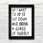 Art: Every Day is a Good Day for Bubbly