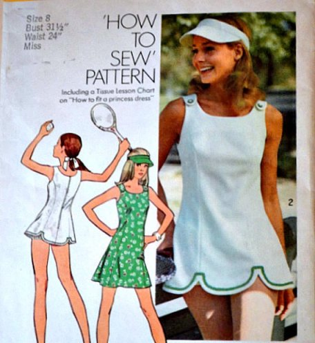 tennis dress pattern