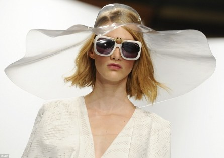 Hussein Chalayan-clear-hat