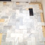 Uptown: Installing Marble in my Foyer