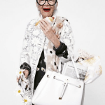 Fashion: Iris Apfel for Kate Spade