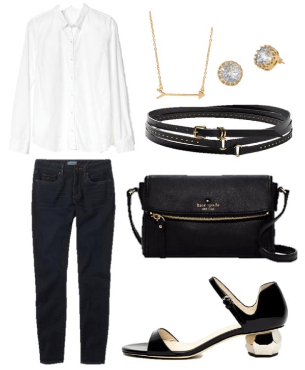 black-jeans-white-shirt