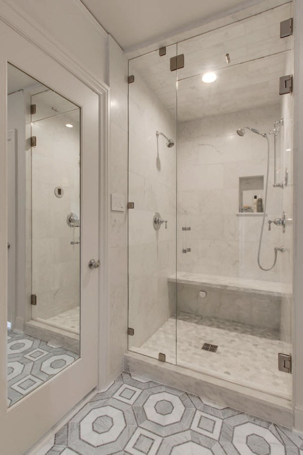 marblesteamshower