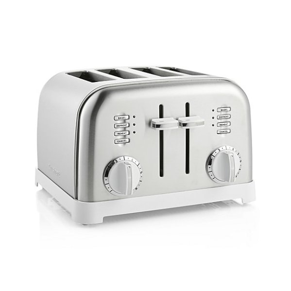 cuisinart-classic-4-slice-white-brushed-stainless-steel-toaster